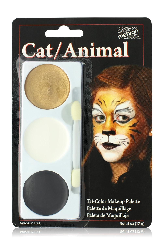 Amazon.com: Mehron Makeup Tri-Color Halloween Makeup Palette (Monster): Toys & Games