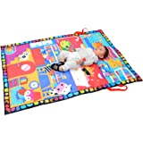 TotMart Animal House Play Mat for Toddler Activity