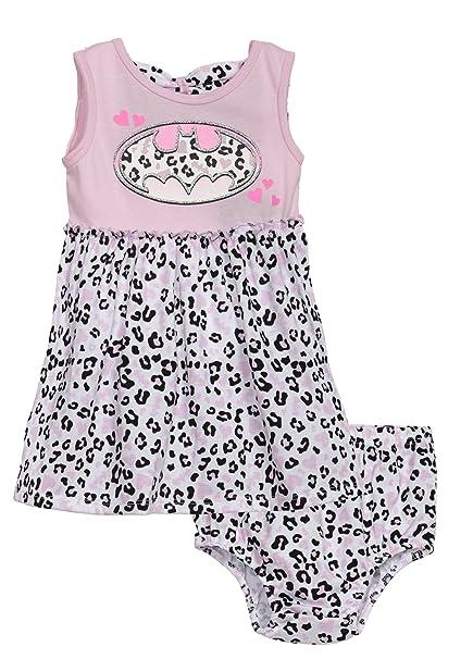Amazon.com: Batman bebé niñas Fashion Vestido y pañal cover ...