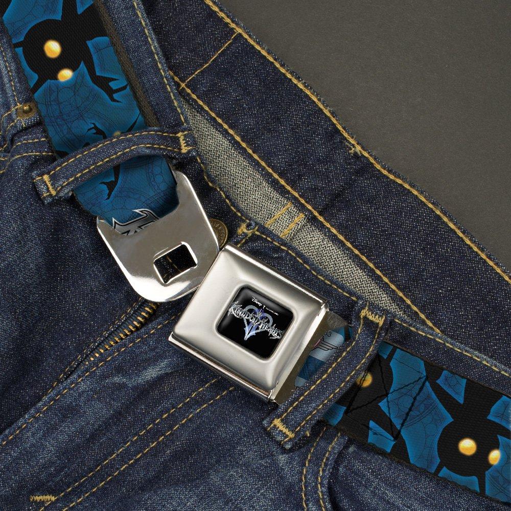 Buckle Down Mens Seatbelt Belt Kingdom Hearts Ii Wdy233