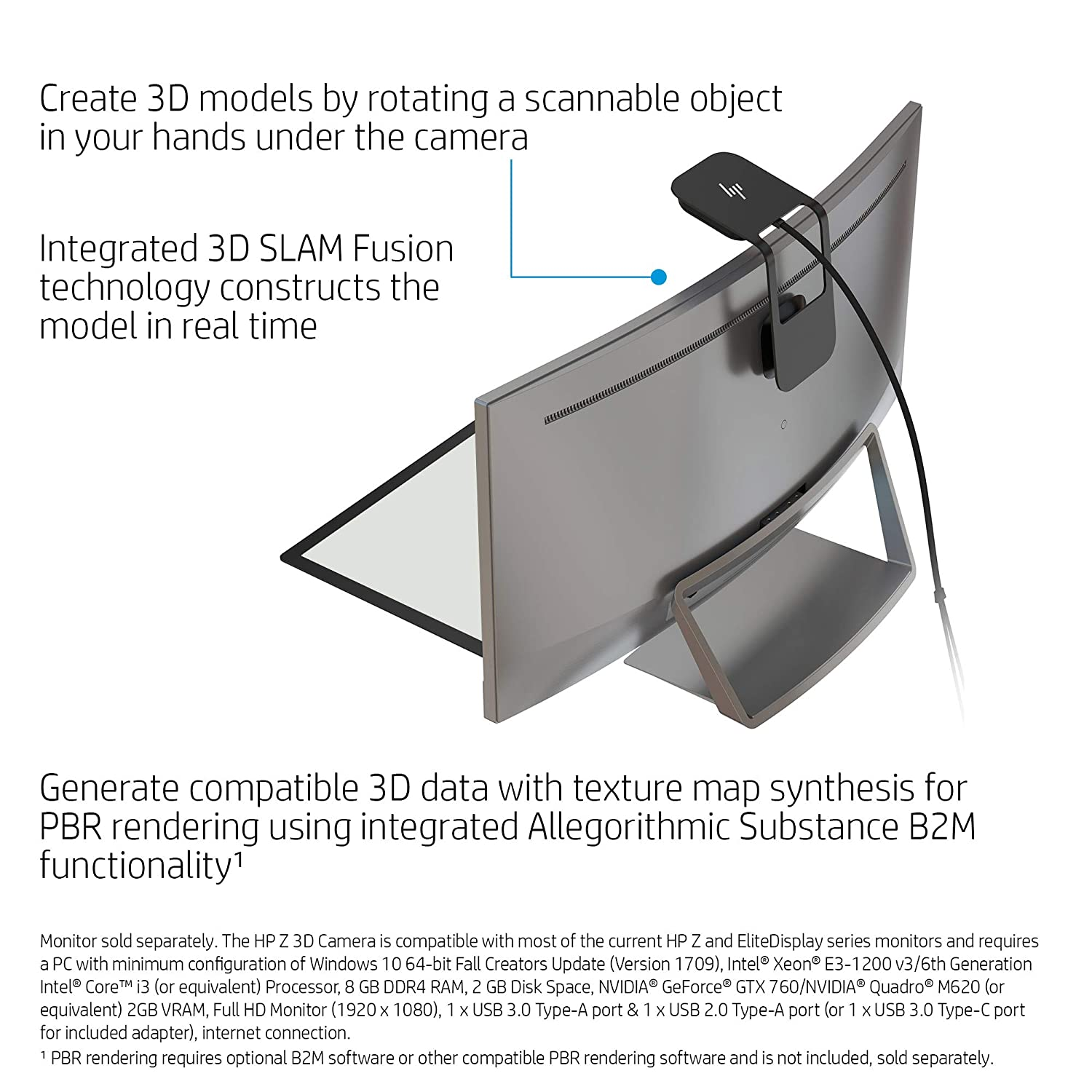 c212a93e16 Amazon.com  HP Z 3D Camera with SLAM Fusion Scanning