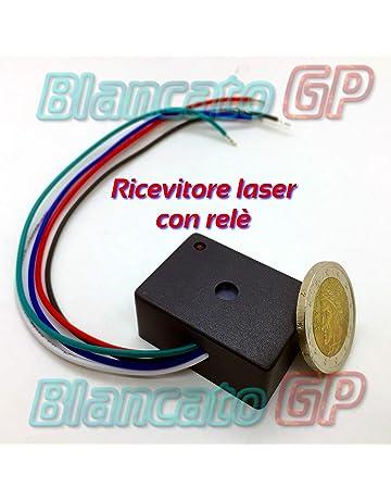 receptor láser 5 V 12 V DC con Relé 3 A – Láser Receiver Module Relay