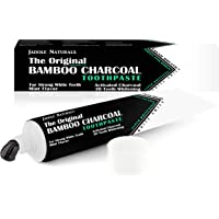 Jadole Naturals' The Original Bamboo Charcoal Toothpaste - ACTIVATED CHARCOAL