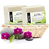 Pifito Goats Milk Melt and Pour Soap Base (2 lb) │ Premium 100% Natural Glycerin Soap Base │ Luxurious Soap Making…