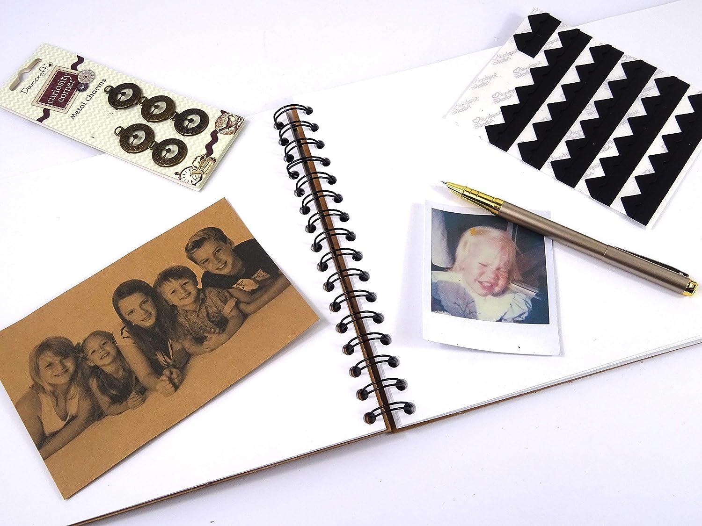 Pride Rainbow Heart A3//A4//A5 Scrapbook Photo Album Memory Keepsake Guest Book Gift