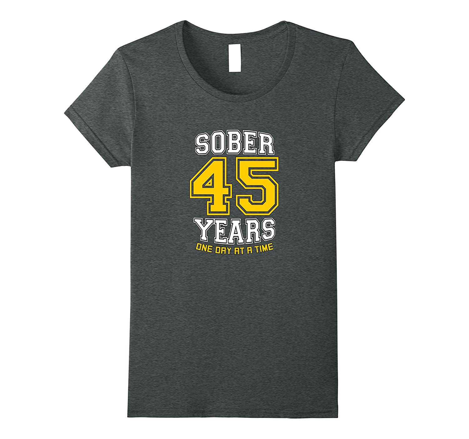 45 Years Sober – AA Sobriety Forty-Fifth Anniversary T-Shirt