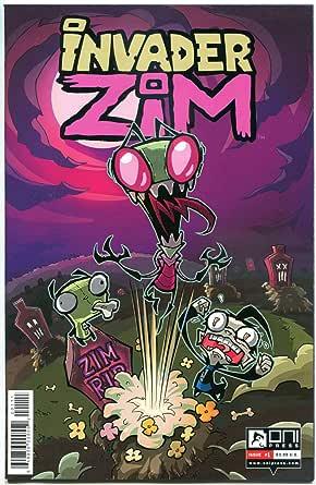 Amazon.com: INVADER ZIM #1, VF+, Jhonen Vasquez, 2015, Oni