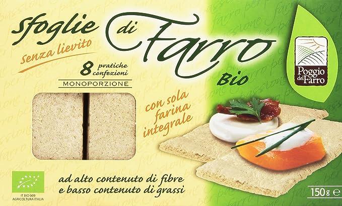 Espelta – Platillos, con sola Harina Integral – 150 g 8 paquetes