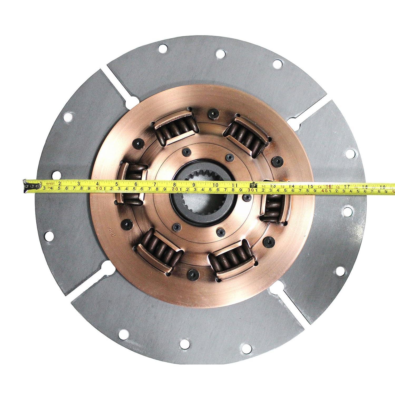 Clutch Disc 14X-12-11102 - Disco de embrague SINOCMP para Komatsu D85-E-SS D65-12 Excavator piezas, 3 meses de garantía: Amazon.es: Coche y moto