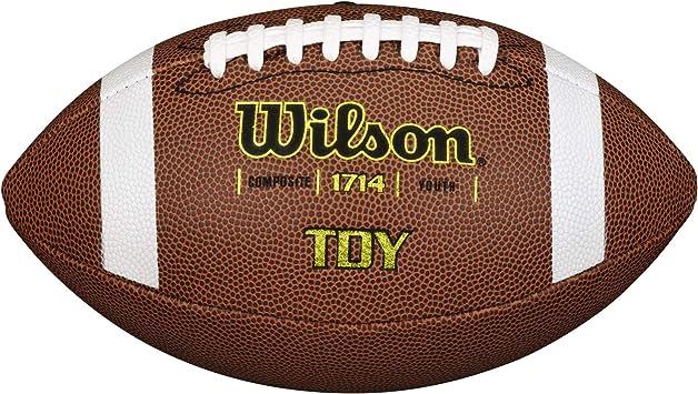 Wilson WTF1857XB Pelota de fútbol Americano NFL Bulk JR Cuero ...