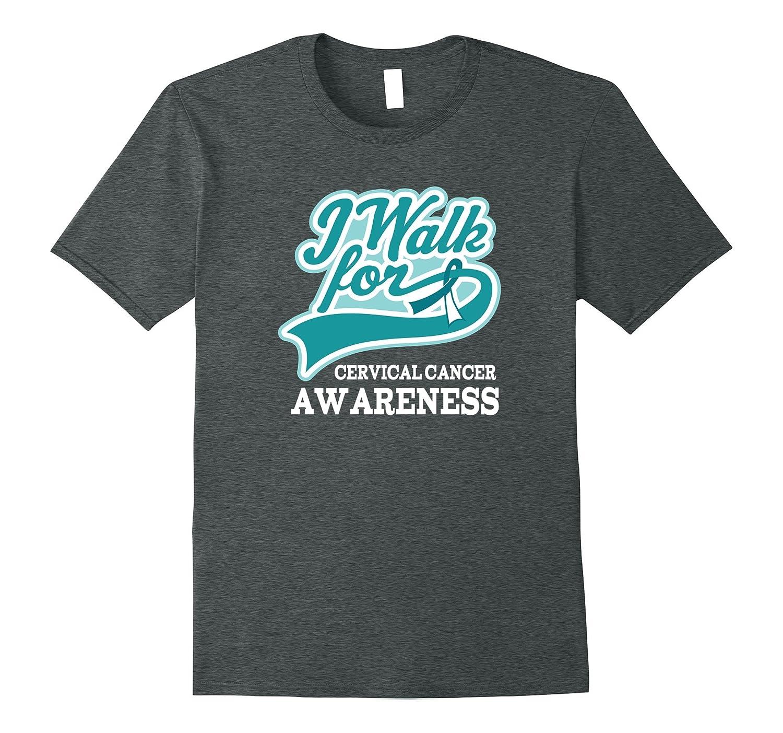 Cervical Cancer Awareness Walk Shirt Support Tee
