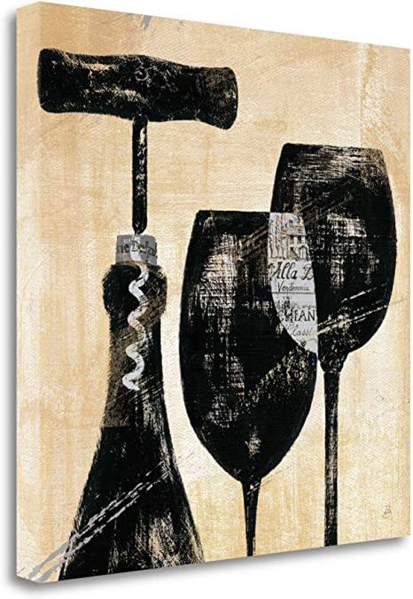 Amazon Com Wine Selection Ii By Daphne Brissonnet Fine Art Giclee Print On Gallery Wrap Canvas Ready To Hang Posters Prints