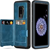 Galaxy S9 Plus Wallet Case,S9 Plus Wallet Case with Card Holder Slots Shockproof Protective Case for Galaxy S9+ 6.2 inch…