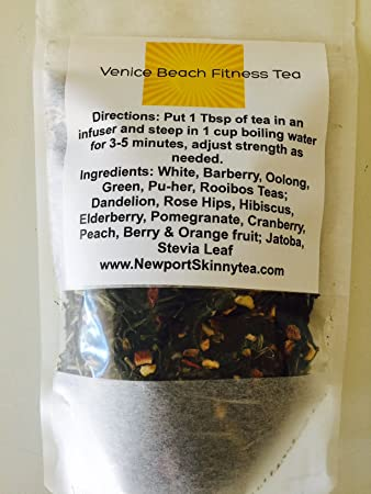 Amazon com : Venice Beach Fitness Tea 14 day Look hot, break Down