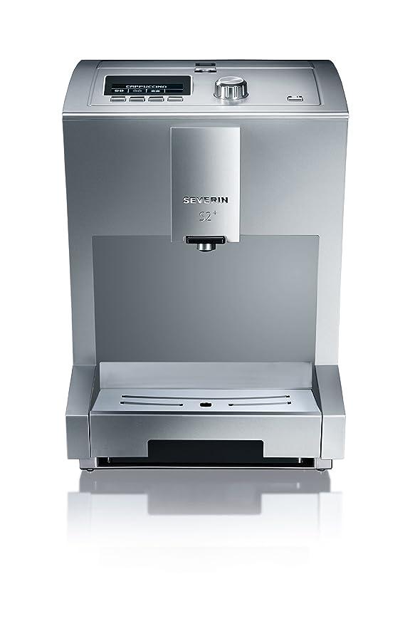Severin KV 8021 - Cafetera superautomática S2, tecnología One Touch, 1500 W: Amazon.es: Hogar
