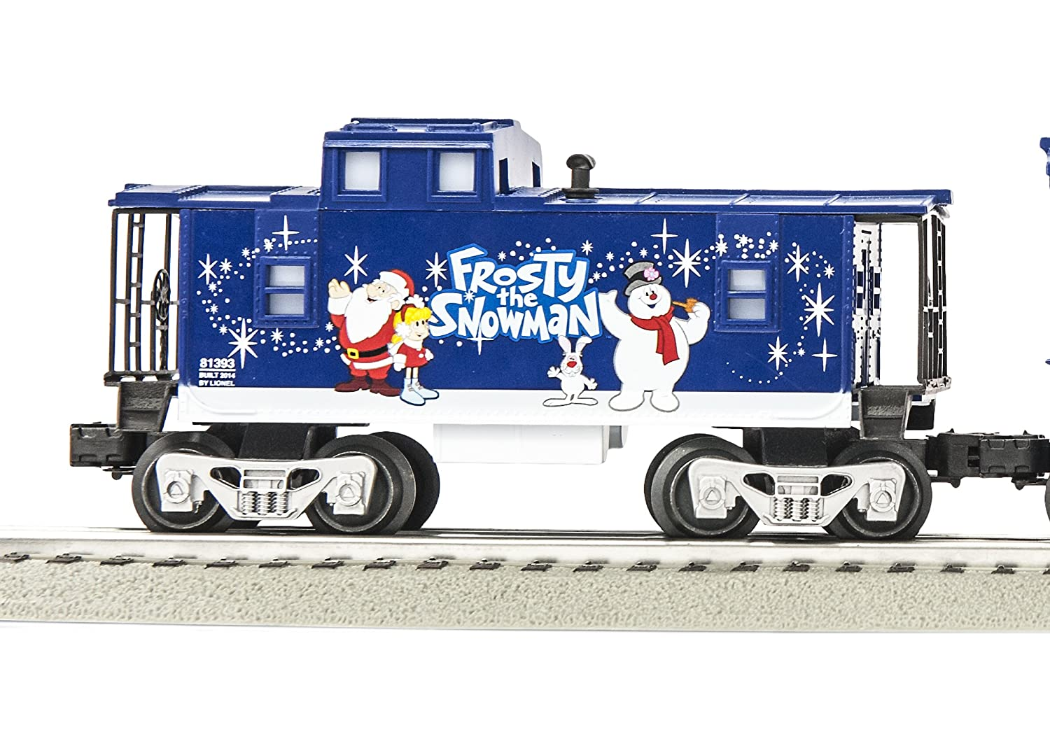 Frosty the Snowman Christmas train - Lionel Trains Frosty the Snowman Engine and Tender