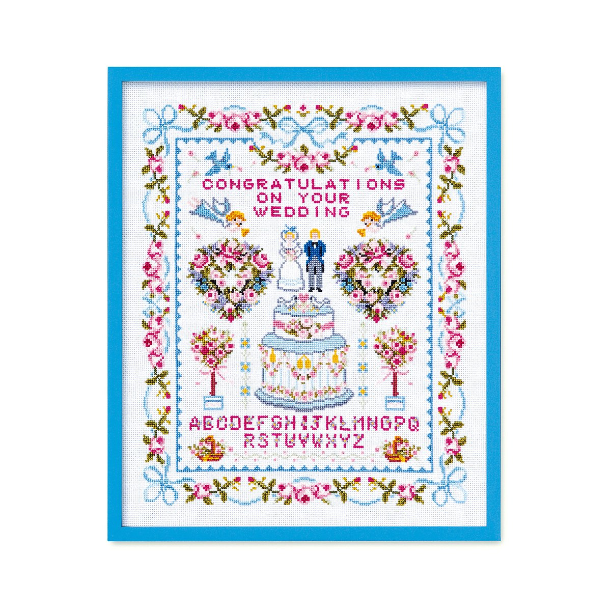 Orimupasu Kreuzstich-Stickerei-Kit Glückliche Hochzeit weiß 7153 7153 7153 B002XB3S0S       Spaß  e710bb