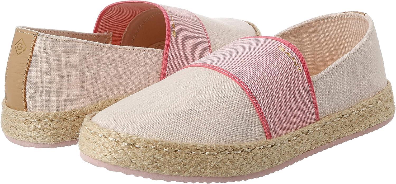 GANT Womens Raffiaville Loafers