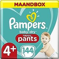 Pampers Baby-Dry Pants Maat 4+, 9kg-15kg, 144 Luierbroekjes, Eenvoudig En Leuk Verschonen Overdag En Bescherming 's…