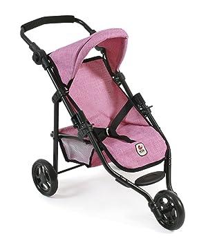 Amazon.es: Silla de Paseo Lola de Bayer Chic; Cochecito para muñecas de hasta 50 cm, Modelo 2000 612 70, Color Jeans Pink: Juguetes y juegos