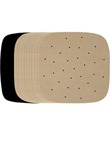 Air Fryer Paper Liner Square Unbleached