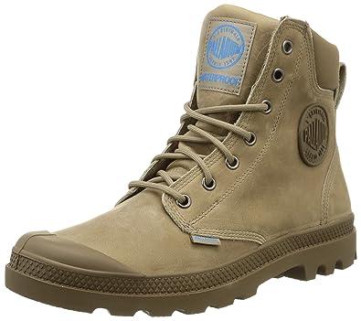 Palladium Spor Cuf Wplu U, Chaussure hautes à lacets mixte adulte, Marron  (A19 ed026653d9a6