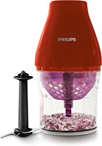 Philips MultiChopper with Chop Drop Technology, Red, HR2505/42