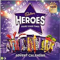 Cadbury Heroes Kerst Chocolade Adventskalender 230g