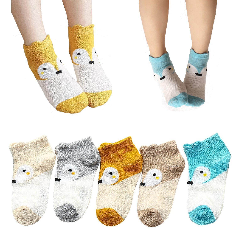 Girls Cute Mesh Low Cut Socks Summer Thin Cotton Kids Toddler Ankle Crew Socks