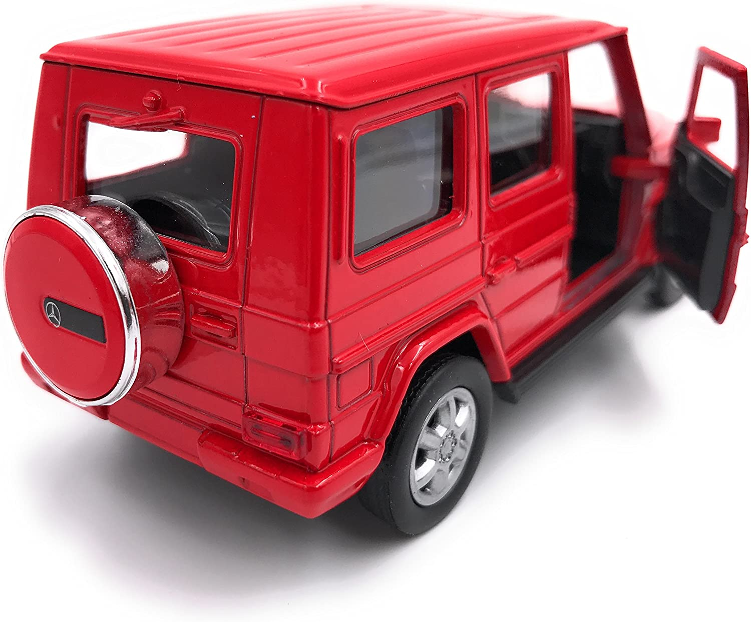 34-1 Welly Mercedes Benz Classe G Mod/èle Auto Car License Product 1 39 Red