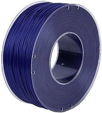 CriArt3D filamento de PLA 1.75 mm azul para impresora 3D o pluma 3D, bobina de 1 kg