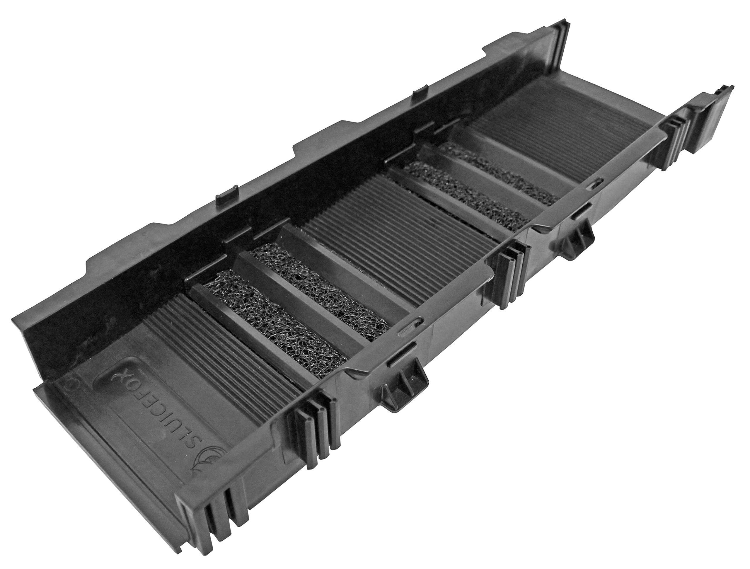 Sluice Fox 24'' Portable Modular Sluice Box Black Dredging Gold Panning Sluicing