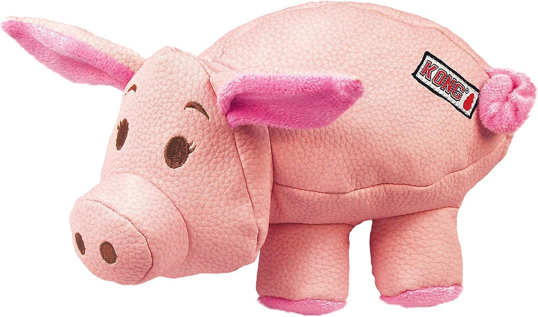 KONG - Phatz Pig - Resistente Juguete sonoro - para Perros ...