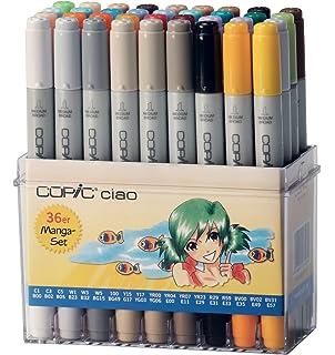 Copic I36-B - Pack de 36 marcadores, set B: Amazon.es: Oficina y papelería