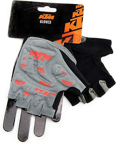 XL M XXL L KTM MTB Kurzfinger Handschuh schwarz orange Größe S
