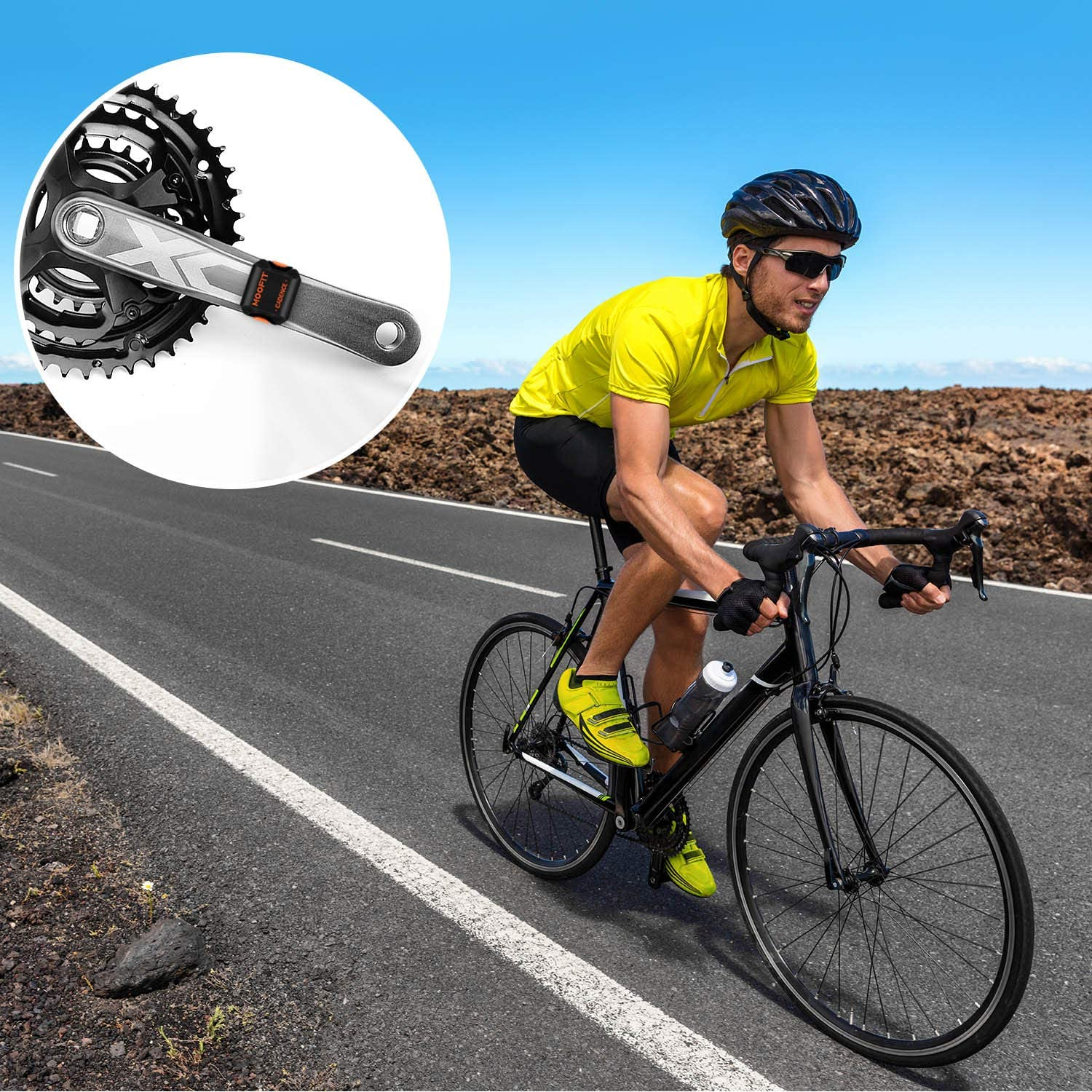 Moofit Best cadence sensor for cycling