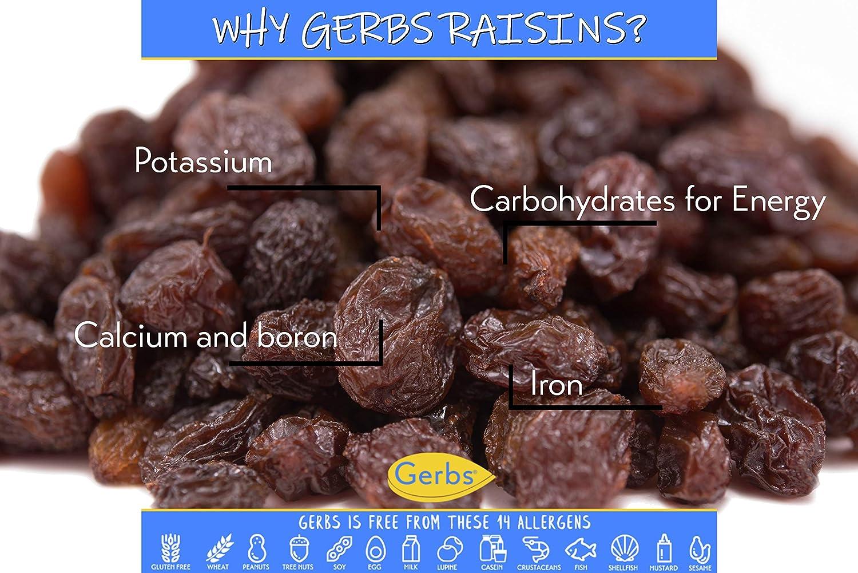 Frutas secas, Sin SO2y sorbato de potasio, de Gerbs ...