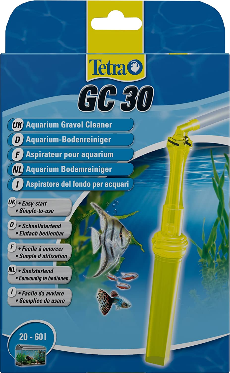 Tetra GC Limpiafondo Confortable GC 30: Amazon.es: Productos para mascotas