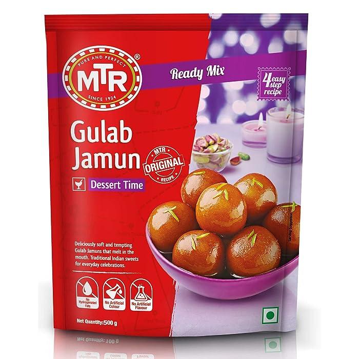 MTR Gulab Jamun Ready Mix 500g (1.1lb) Makes 100 Gulab Jamuns Of approx. 25g each