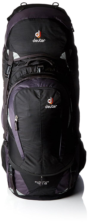 Deuter Quantum 70+10 Deuter Quantum 70+10 Travel Trekking Pack with Bonus Daypack 3510415-7400