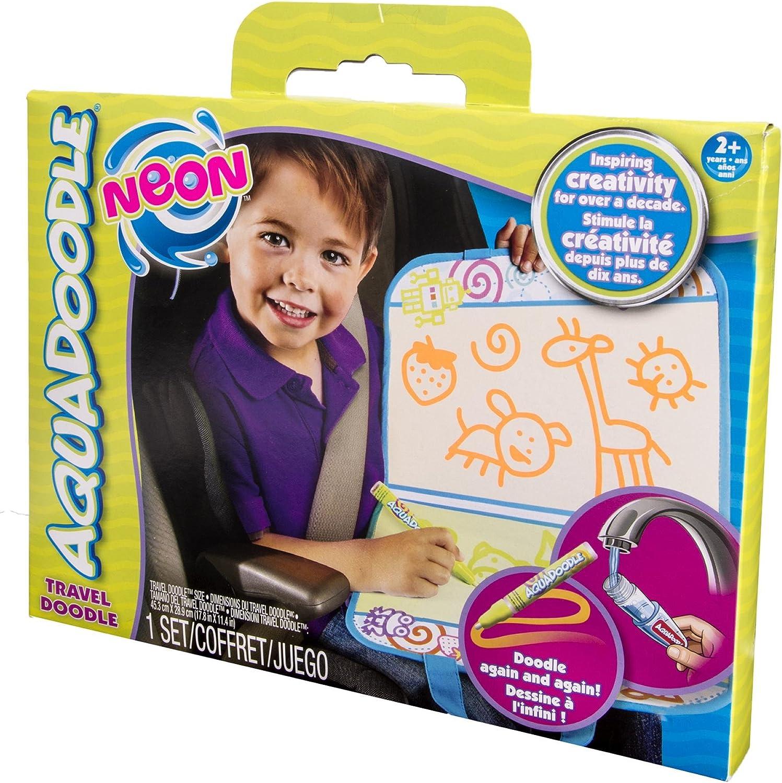 AquaDoodle Travel Doodle Neon Damaged Box