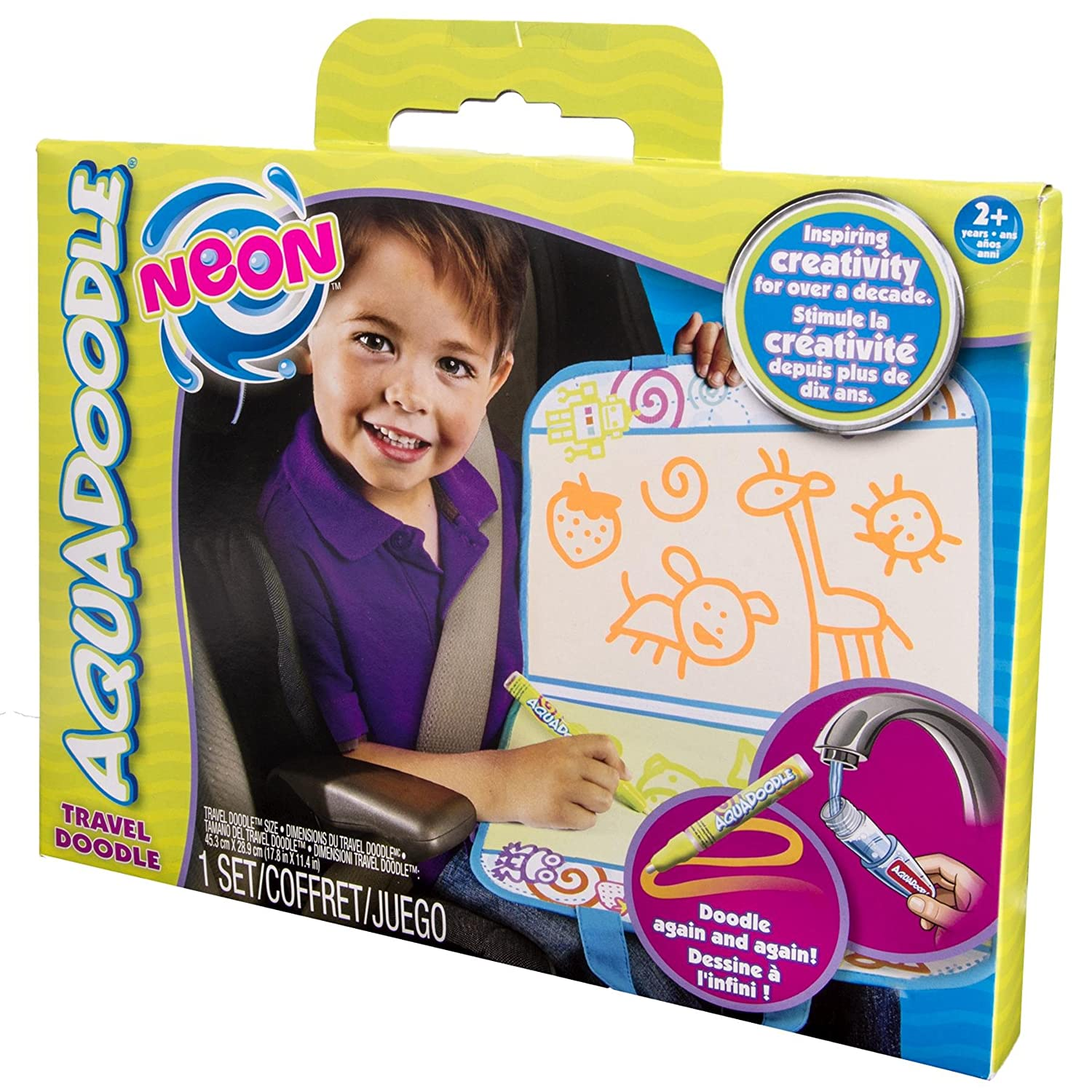 Amazon AquaDoodle Accessories Travel Doodle Neon Toys