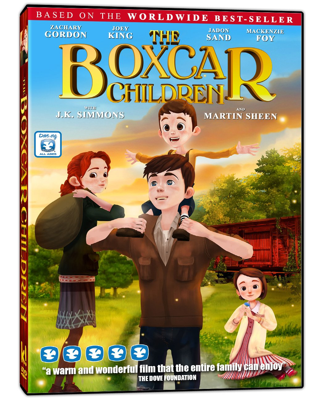 Amazon com: The Boxcar Children: Zachary Gordon, Joey King