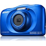 Nikon W150 Australian Warranty Nikon Coolpix W150 Digital Camera Blue, Blue (VQA111AA)