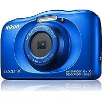 Nikon W150 Australian Warranty Coolpix Digital Camera, Blue (VQA111AA)