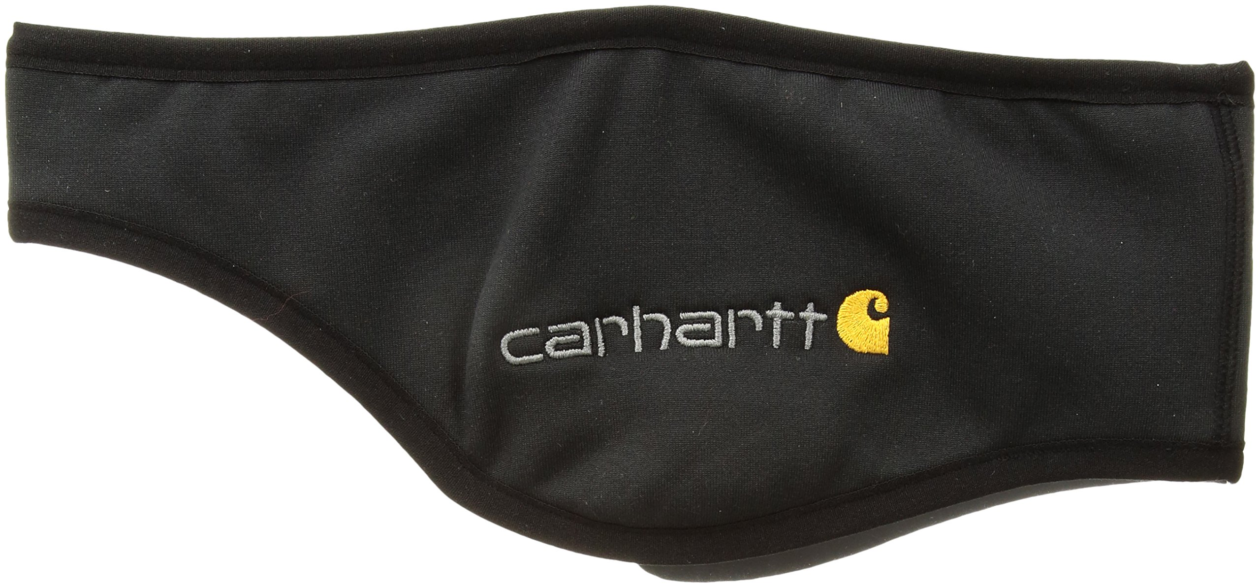 Carhartt Men's Force Fleece Ball Cap Headband, black, One Size