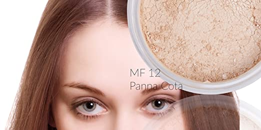 Amazon.com : Itay Mineral Cosmetics Natural Loose Mica Powder Foundation (MF-12 PANNA COTTA) : Beauty