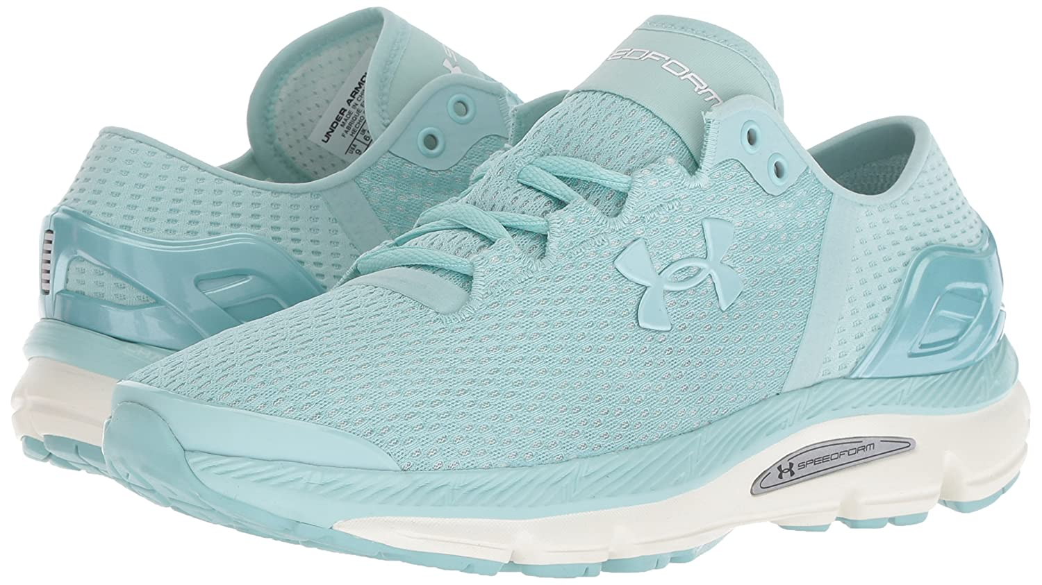 Under Armour Women's Speedform Intake 2 Running Shoe B07742SQP3 9 M US|Seaport (300)/Ivory