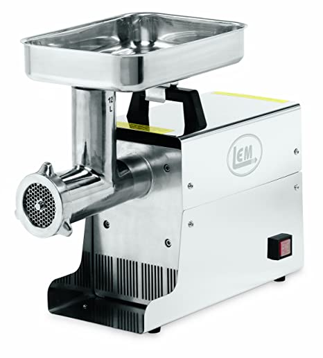LEM .75 HP Stainless Steel Electric Meat Grinder