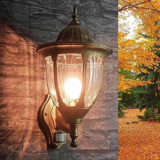 Außen Laterne Antik Design Beleuchtung Haus Tür Wand Lampe